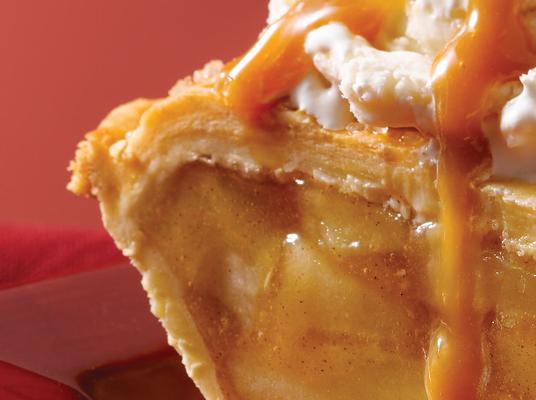 Caramel Apple Turnover Cake